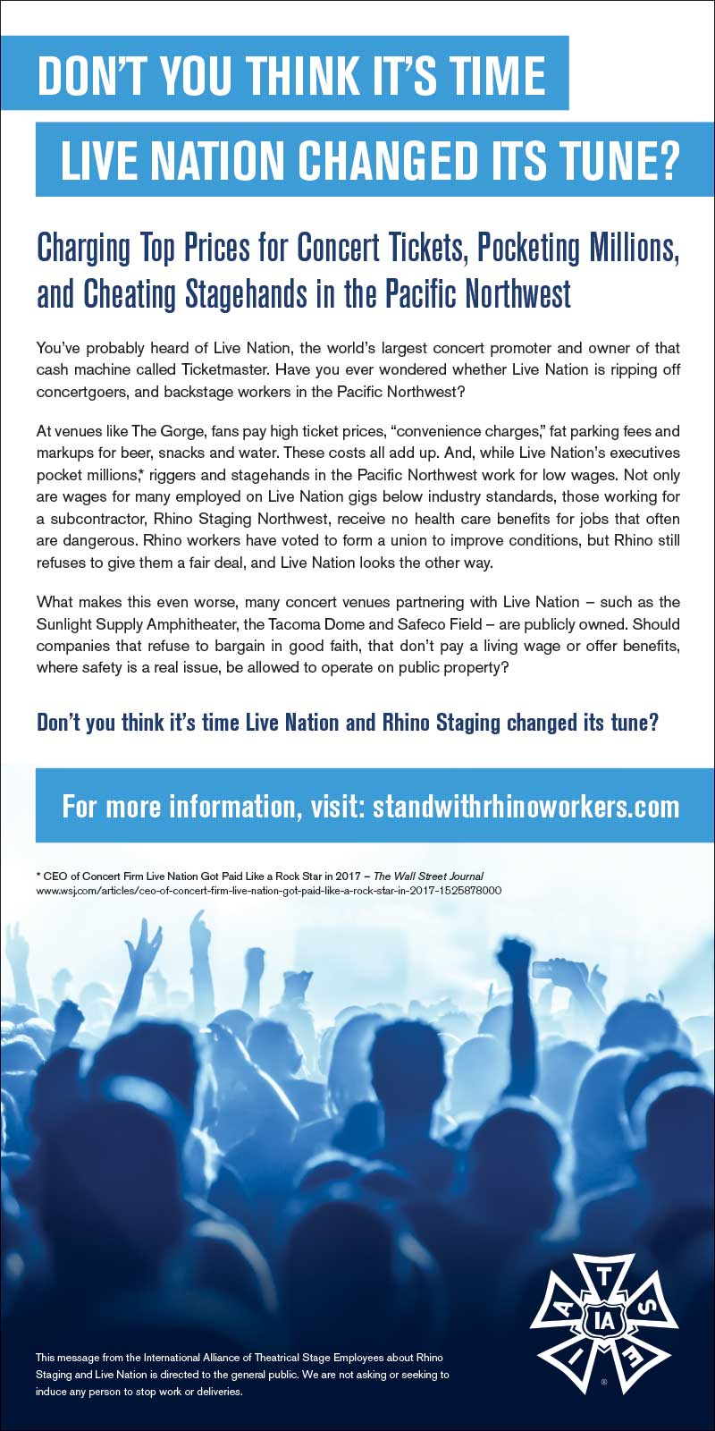 Live Nation Ad